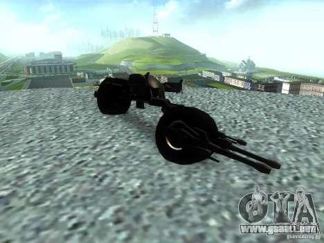Batpod para la visión correcta GTA San Andreas