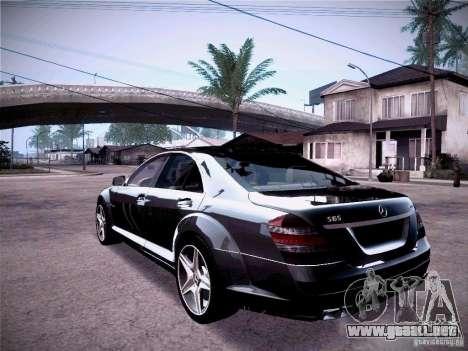 Mercedes-Benz S65 AMG 2011 para GTA San Andreas left