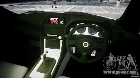 Nissan Skyline R34 Nismo para GTA 4 visión correcta