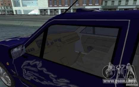 Yugo 45 Tuneable para la vista superior GTA San Andreas