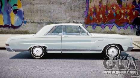 Ford Mercury Comet 1965 [Final] para GTA 4 Vista posterior izquierda