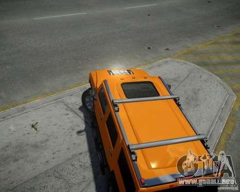 Hummer H2 2010 Limited Edition para GTA 4 visión correcta
