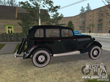 GAS 11-73 para GTA San Andreas left