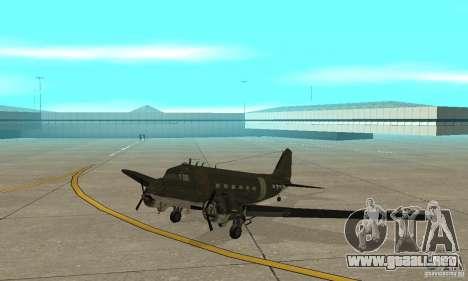 C-47 Skytrain para GTA San Andreas left