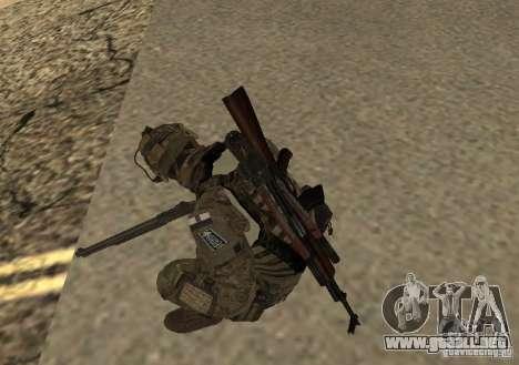 GROM Operator para GTA San Andreas segunda pantalla