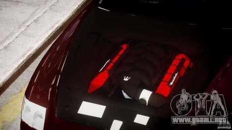 Maserati Quattroporte V para GTA 4 vista lateral