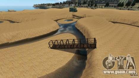 Desierto de Gobi para GTA 4 sexto de pantalla