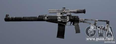 Como Rifle de asalto de Val para GTA San Andreas sucesivamente de pantalla