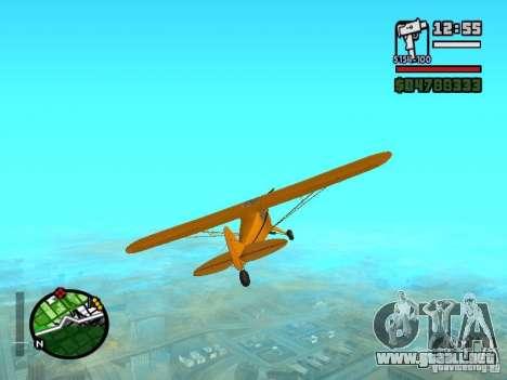 Piper J-3 Cub para la visión correcta GTA San Andreas