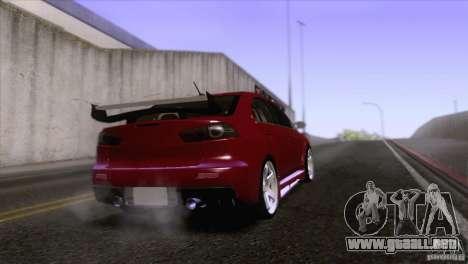 Shine Reflection ENBSeries v1.0.0 para GTA San Andreas sucesivamente de pantalla