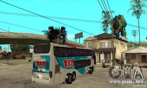 Marcopolo Paradiso 1800 G6 8x2 para la visión correcta GTA San Andreas