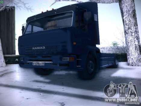KAMAZ 5460 Sport para la visión correcta GTA San Andreas