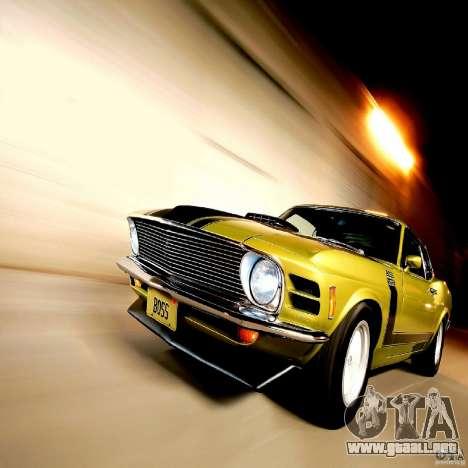 Pantallas de carga en el estilo del Ford Mustang para GTA San Andreas
