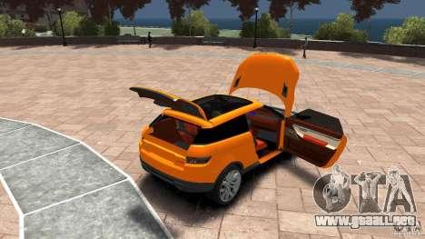 Range Rover LRX 2010 para GTA 4 vista lateral