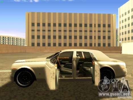 Rolls-Royce Phantom V16 para vista inferior GTA San Andreas