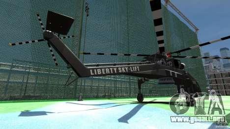 Liberty Sky-lift para GTA 4 Vista posterior izquierda