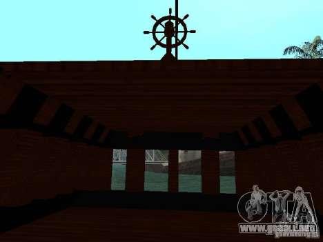 XVIII Century Battleship para visión interna GTA San Andreas