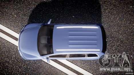 Volkswagen Touareg 2008 TDI para GTA 4 visión correcta