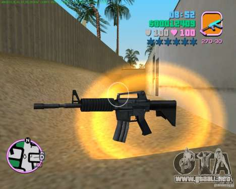 M4 de Counter Strike Source para GTA Vice City