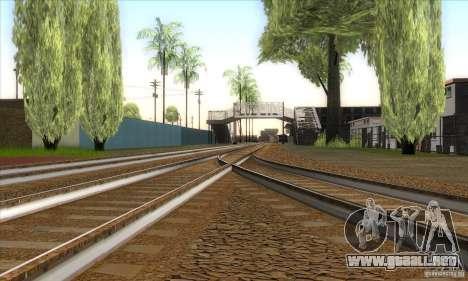 Russian Rail v2.0 para GTA San Andreas quinta pantalla