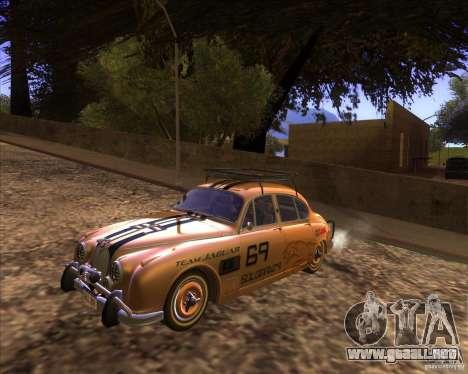 Jaguar MK2 1959-1967 para visión interna GTA San Andreas
