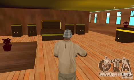 RMS Titanic para GTA San Andreas interior