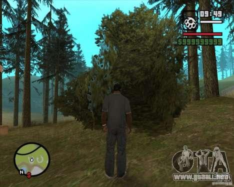 Casa Hunter v2.0 para GTA San Andreas sexta pantalla