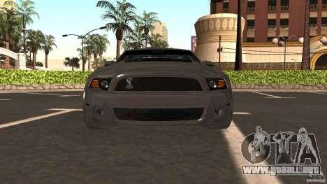 Shelby Mustang 1000 para la visión correcta GTA San Andreas