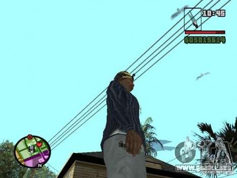 G: para GTA San Andreas segunda pantalla