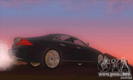 Mercedes-Benz CLS AMG para GTA San Andreas left