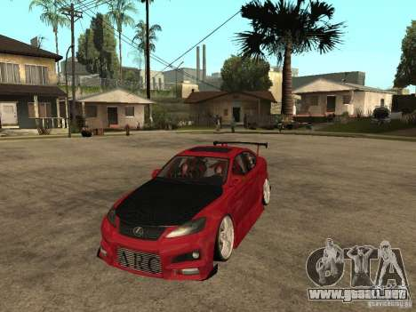 Lexus Drift Car para GTA San Andreas
