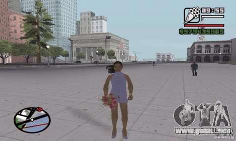 Reencarnación en un habitante de la ciudad para GTA San Andreas quinta pantalla