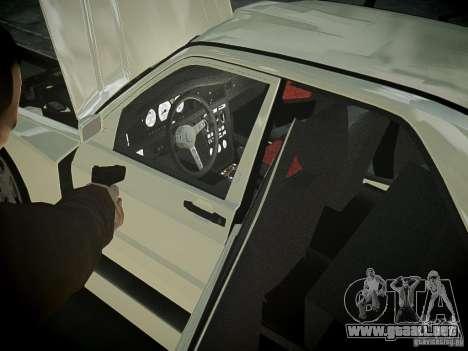 Mercedes 190E Evo2 para GTA 4 vista interior