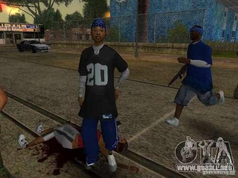 Crips para GTA San Andreas