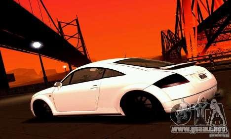 Audi TT Light Tuning para GTA San Andreas left