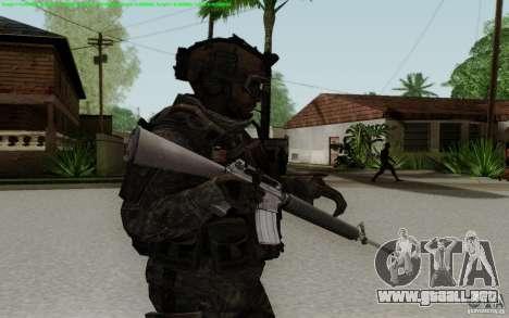 M16A2 para GTA San Andreas tercera pantalla