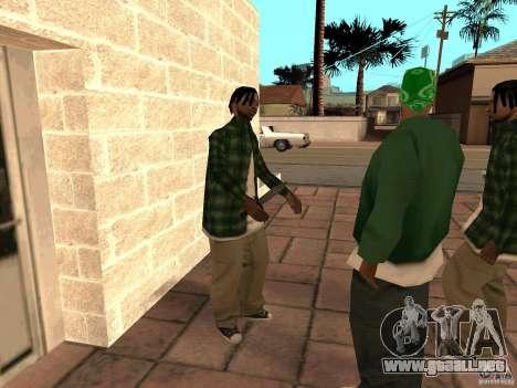 Pak versión doméstica armas 3 para GTA San Andreas séptima pantalla