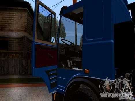 MAZ 642208 para visión interna GTA San Andreas