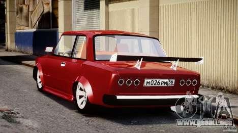 VAZ 2101 Redline para GTA 4 Vista posterior izquierda