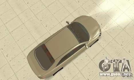 Toyota Camry Tuning 2010 para la visión correcta GTA San Andreas