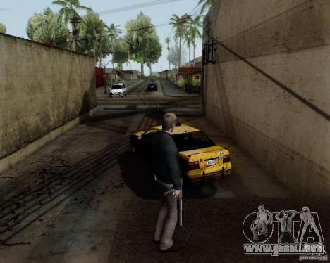 Daniel Craig para GTA San Andreas sucesivamente de pantalla