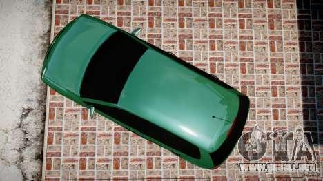 Volkswagen Polo 2.0 2005 para GTA 4 visión correcta