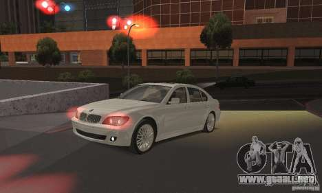 Luces rojas para GTA San Andreas segunda pantalla