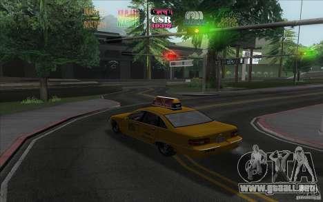 Radio Hud IV para GTA San Andreas segunda pantalla