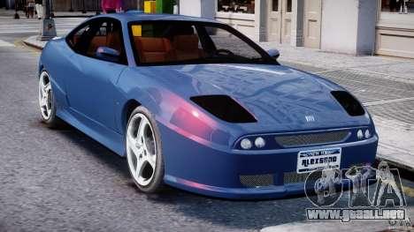 Fiat Coupe 2000 para GTA 4 vista desde abajo