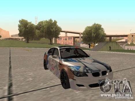 BMW M5 E60 para la vista superior GTA San Andreas