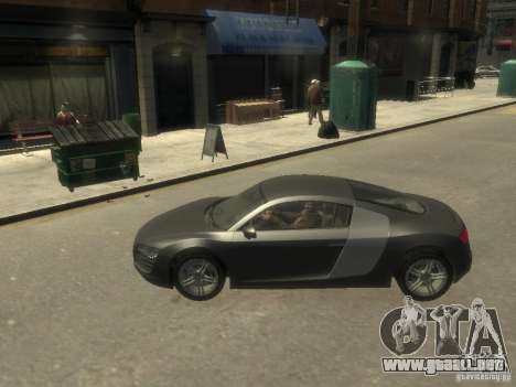 Audi R8 NFS Shift para GTA 4 left