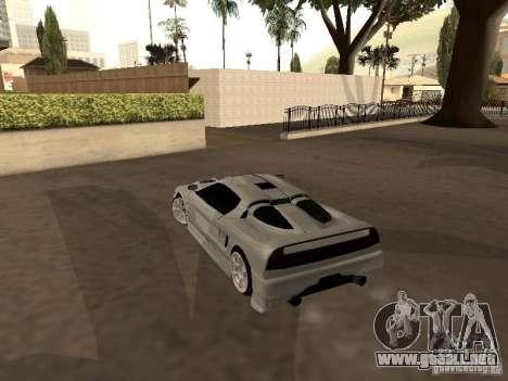 Infernus GT para la visión correcta GTA San Andreas
