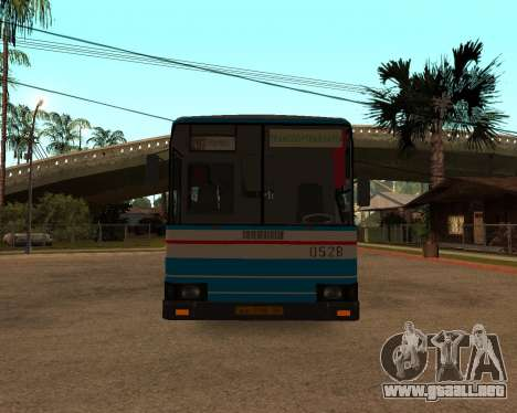 Autosan H10-11B full Orenburg stickers para visión interna GTA San Andreas