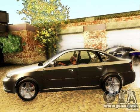 Subaru Legacy 3.0 R tuning para GTA San Andreas left